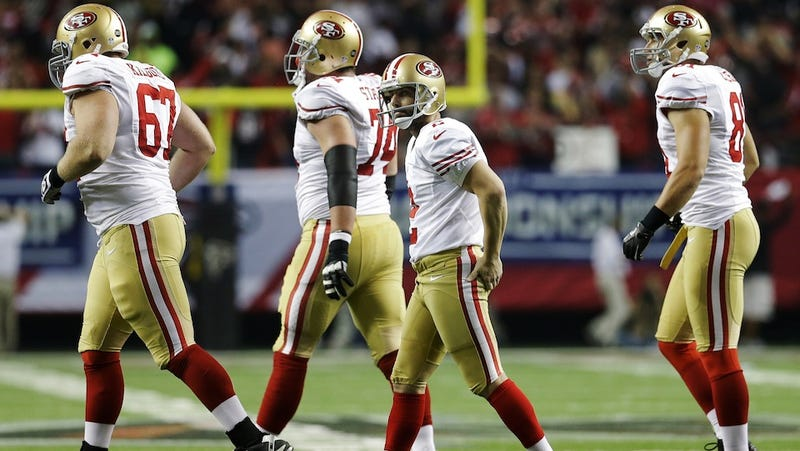 The 49ers Will Stick With David Akers For The Super Bowl
