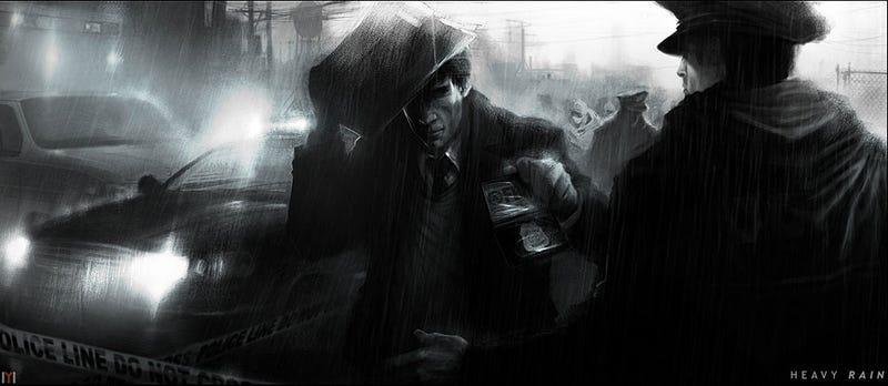 Some Moody, Moody Heavy Rain Concept Art [Update]