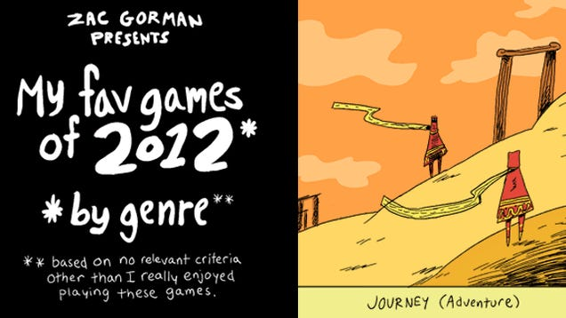 Take a Groovy, Animated Trip through One Man's Favorite Games of 2012