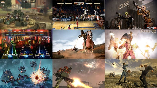 The Best Video Games Right Now
