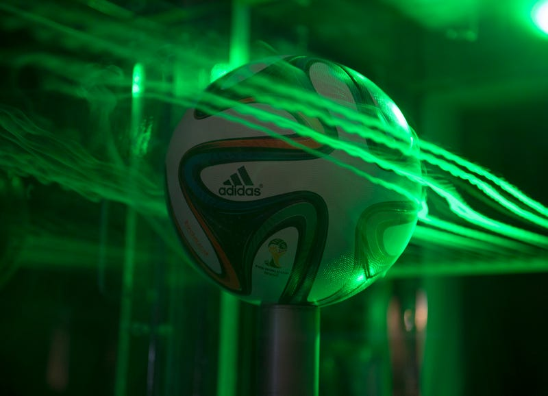 Aerodynamics of the World Cup's New Ball