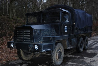 Become an evil henchman with this HYDRA truck from the Captain America movie