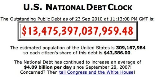 Individual Americans' Foolish But Noble Quest to Pay Down the National Debt