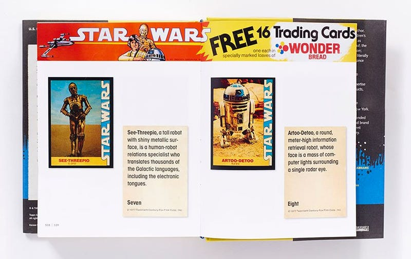 This Book's Collected All the Original Topps Star Wars Cards So You Don't Have To