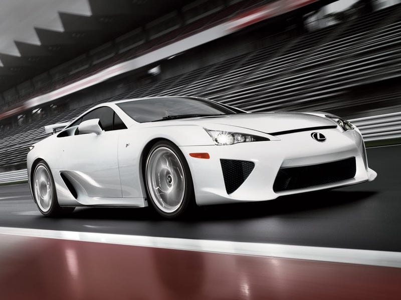 Lexus LFA Official Images And Specs: Hold Onto Your Butts