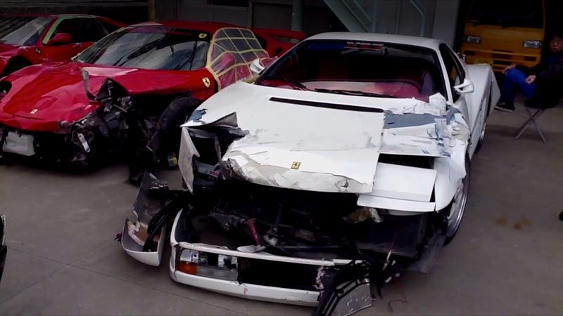 This Is The Aftermath Of The World's Most Expensive Car Crash