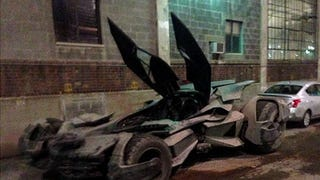 New Batmobile revealed? (spoiler: If it's real, it's pretty awesome)