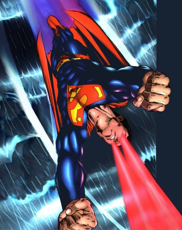 Everything You Ever Wanted To Know About Superman's Eyeballs