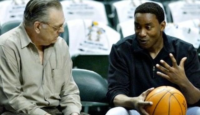Hide The Sharp Objects: Isiah Thomas Talks The Knicks Job