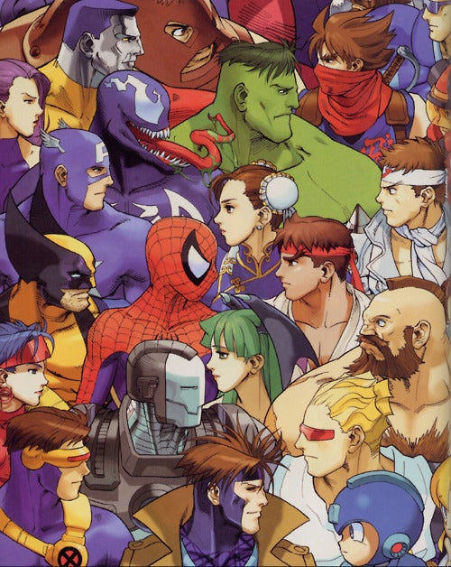 Bengus' Capcom Game Art Will Knock Your Teeth Out