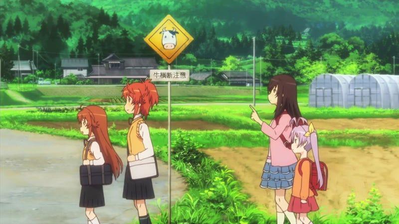 Non Non Biyori is a Lighthearted Romp in the Japanese Countryside