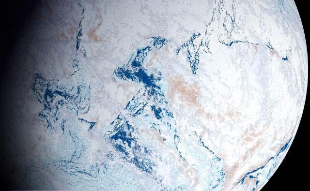 Two possible ways that life evolved in ice