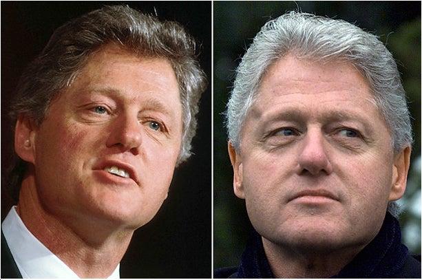 Obama Stealing Bill Clinton's Hair PR Strategy