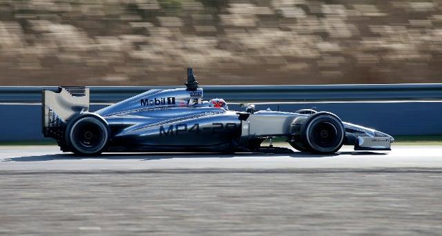 F1: Magnussen fastest on day three