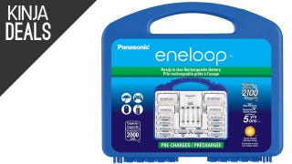 Supercharge Your Rechargeable Battery Arsenal With This Eneloop Set