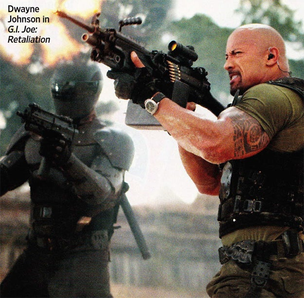 G.I. Joe: Retaliation Entertainment Weekly Picture