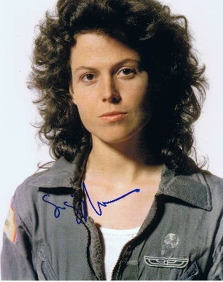 Geeking out about science fiction movies with Sigourney Weaver