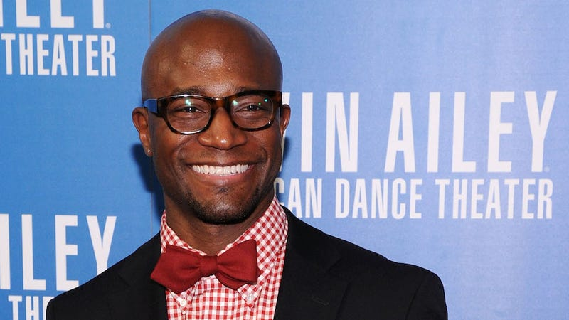 Here's Taye Diggs Goofily Pole Dancing
