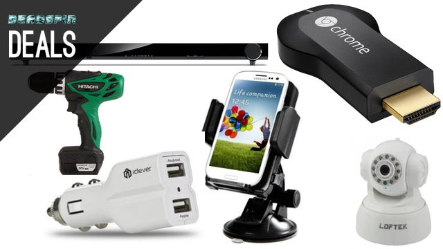Charge and Mount Your Phone in the Car, $25 Chromecast Sale [Deals]