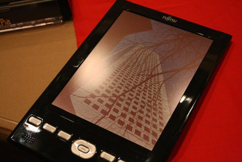 Hands On: Fujitsu FLEPia Color eBook Reader Should Stay In Japan Until It's Done