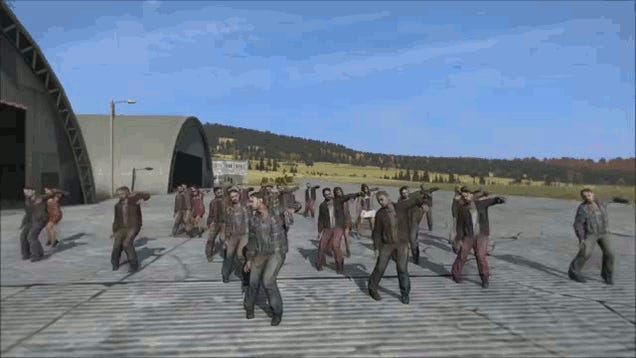 Zombies Throw Dance Party To Celebrate 1,000,000 DayZ Survivors