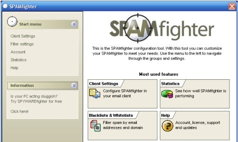 Download of the Day: SpamFighter (Windows)