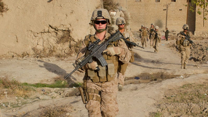 Second Female Marine Drops Out of Infantry Officer Course
