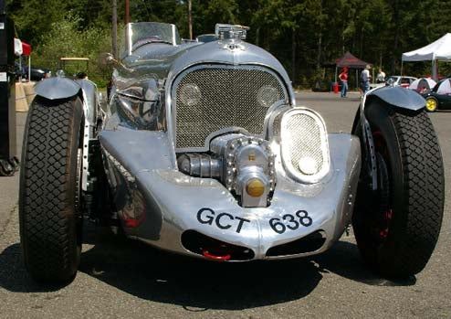 Blower Bentley Replica: Twice As Many Cylinders, Way More Fun