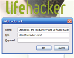 Hack Attack: Firefox and the art of keyword bookmarking