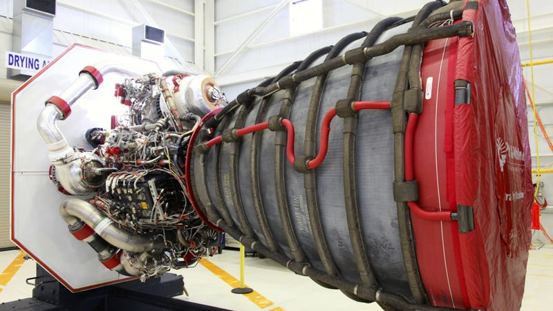 NASA's RS-25D space shuttle engines are downright incredible to behold