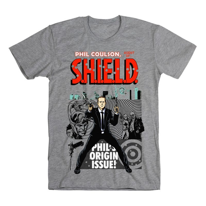 Show your love for Agent Coulson with 9 brand new Avengers T-shirts