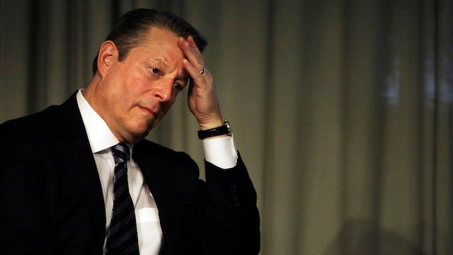 Al Gore Thinks TV Networks Are Destroying Civic Involvement in the U.S.