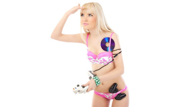 Fake Gamer of the Week: Girl Who Stores Game Controllers In Her Underwear