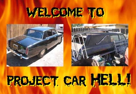 Project Car Hell: Rover 2000 or Biscayne Hearse?