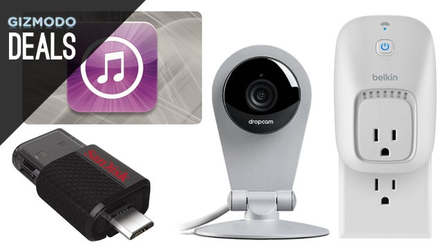 Deals: Dropcam Dropped Price, Every Kind of SanDisk Storage, WeMo