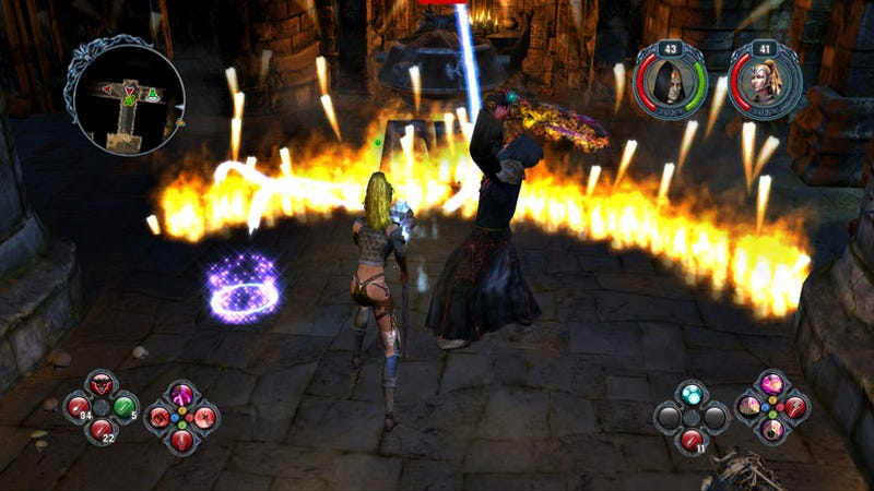 New Sacred 2 Screens Show Off Console Co-op