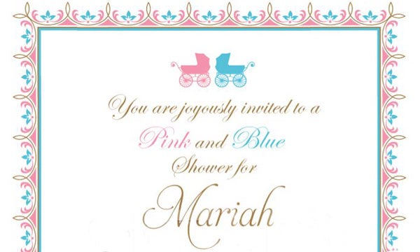 Mariah's Bourgie Baby Shower