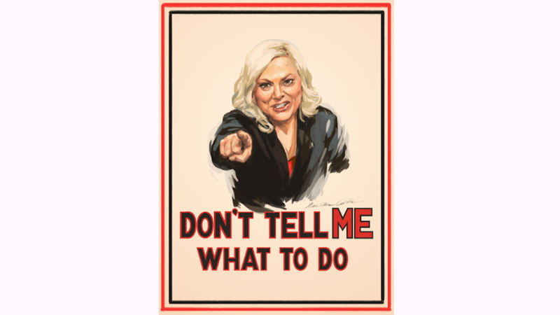 Leslie Knope Has a Message for Bossy Male Lawmakers