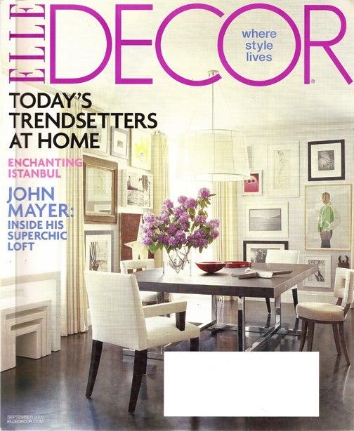"""Elle Decor Goes Inside John """"The Player"""" Mayer's Loft"""