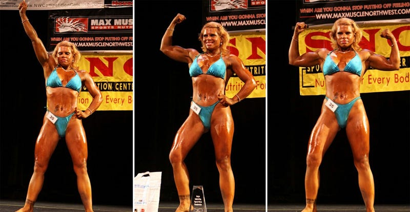 Meet Corinna Burt, the Bodybuilding Neo-Nazi Porn Star - Photos