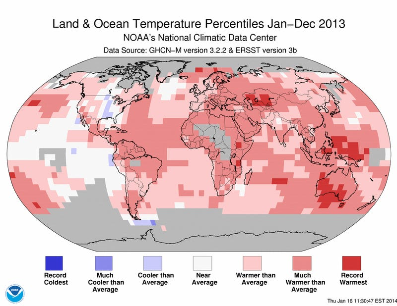 """Here's Why This Year's Cold Winter Doesn't """"Disprove"""" Climate Change"""