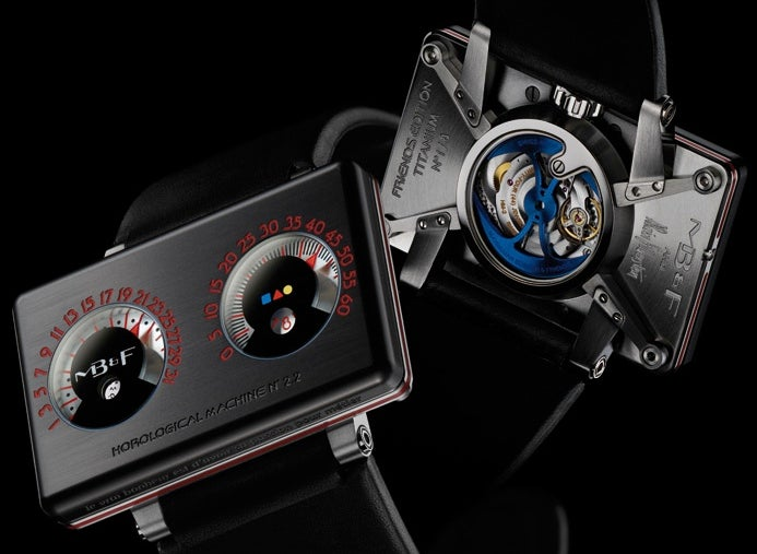 MB&F Horological Machine No.2.2 Is a Formidable Keeper of Time