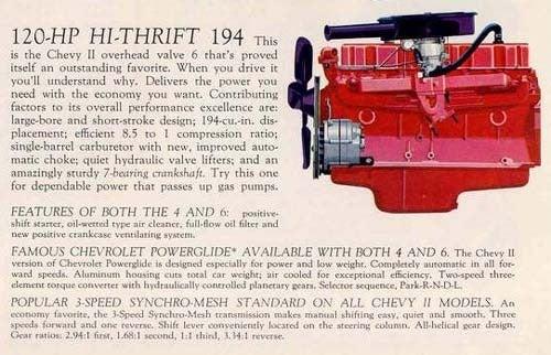 Engine Of The Day: Third-Gen Chevrolet Inline Six