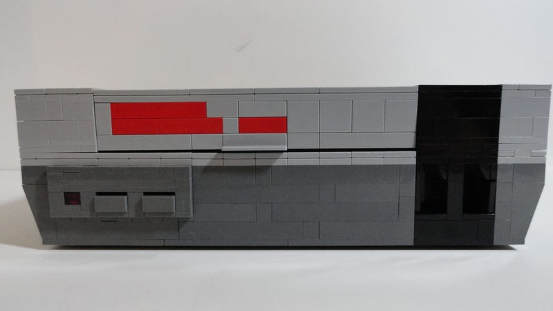 This LEGO Nintendo Could Almost Pass For The Real Thing