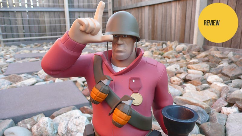 There's An Actual Team Fortress 2 Soldier In My House