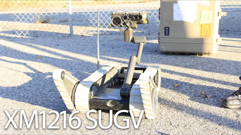 The Military's Robot Eyes