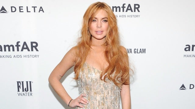 Lindsay Lohan Borrowed a $1,750 Gown for a Party and Returned It Cut in Half