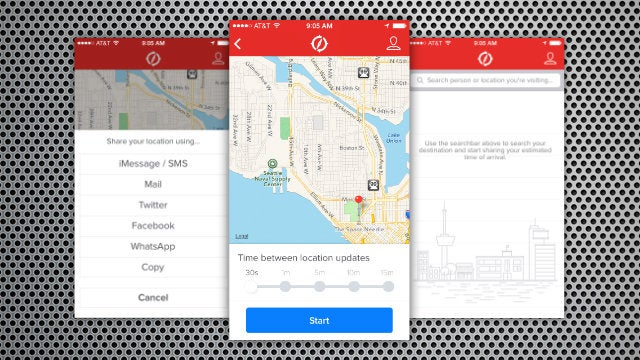 Routeshare Sends Your Location to Friends, Self-Destructs Upon Arrival