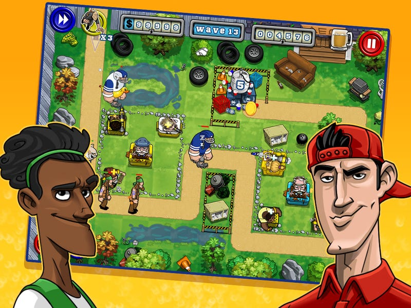 Why is There a Tower Defense Game Based on the Movie Old School?