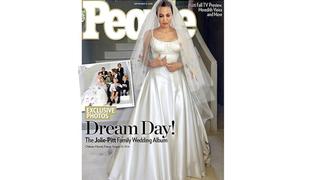 OMFG It's Angelina Jolie's Wedding Dress